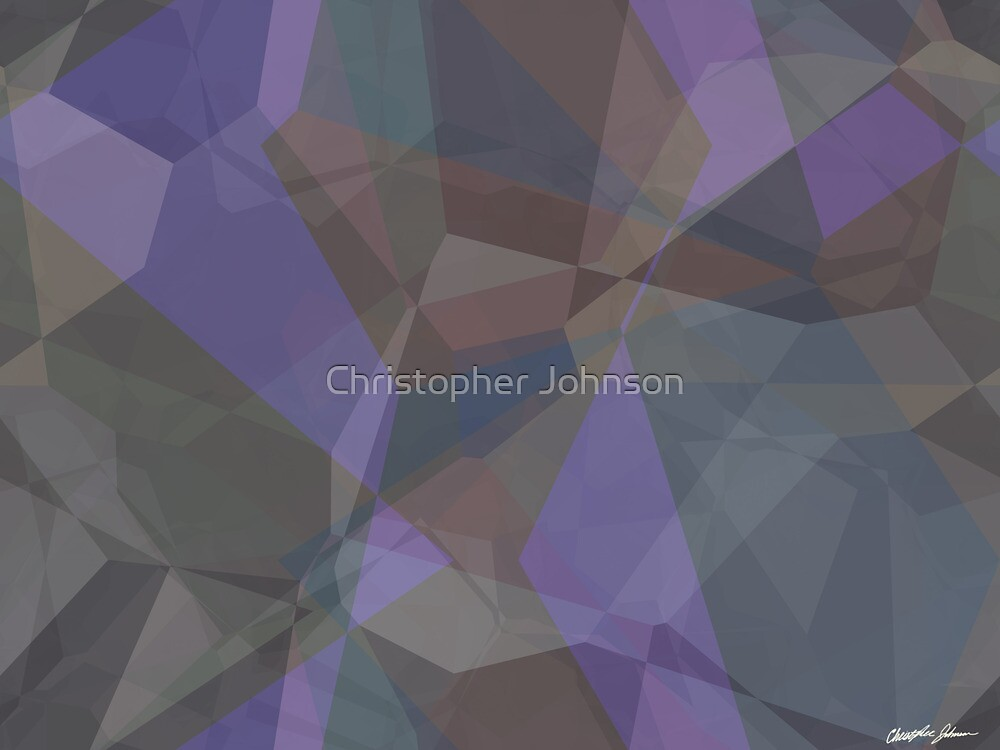 Abstract Polygons 93 by Christopher Johnson
