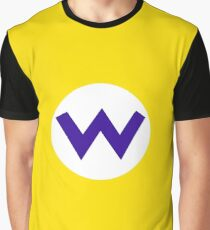 Super Mario Wario Icon Graphic T-Shirt