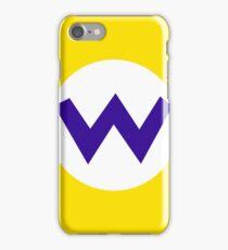 Super Mario Wario Icon iPhone Case/Skin