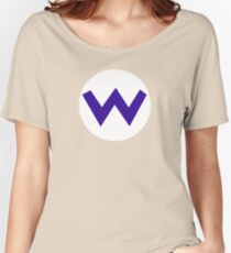 Super Mario Wario Icon Women's Relaxed Fit T-Shirt