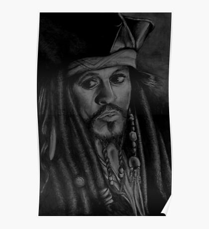 captain sparrow Poster