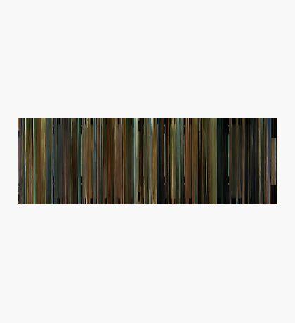 Moviebarcode: Cinema Verite (2011) Photographic Print