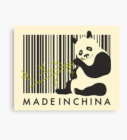 MADE IN CHINA Canvas Print