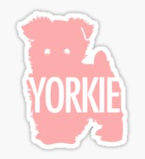 Yorkie Pinkie Sticker