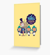 Wonka's Home of Pure Imagination Greeting Card