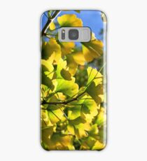 Ginkgo Leaves In Autumn Samsung Galaxy Case/Skin