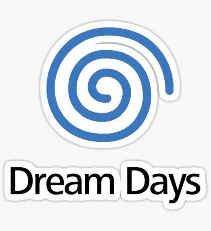 Dreamcast (Old School Shirt) Version.02 Sticker