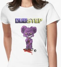 Dubstep Ted Women's Fitted T-Shirt