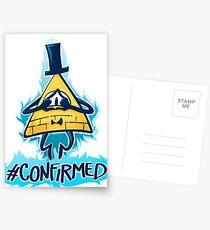 Bill Cipher - CONFIRMED Postcards