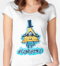 Bill Cipher - CONFIRMED Women's Fitted Scoop T-Shirt