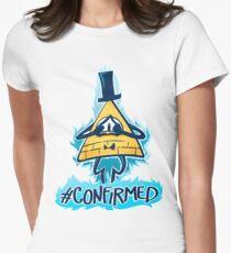 Bill Cipher - CONFIRMED Women's Fitted T-Shirt