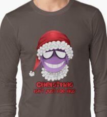 Purple guy - Christmas isn't just for kids Long Sleeve T-Shirt