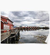 Svolvær on the Lofoten Islands Poster