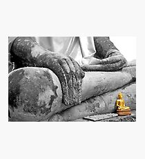 """Earth Witness"" Buddha Photographic Print"