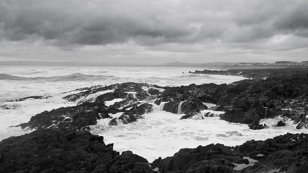 Incoming Tide, Westward Ho!  by John Burtoft