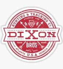Dixon Bros. - Red Version Sticker