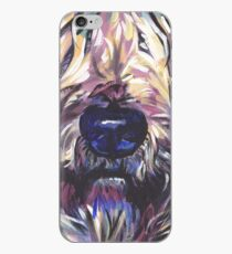 Wheaten Terrier Bright colorful pop dog art iPhone Case