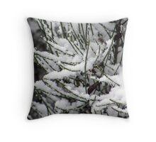 Fantasy Snowfall Throw Pillow