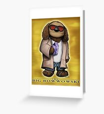 The Big Bowwowski Greeting Card