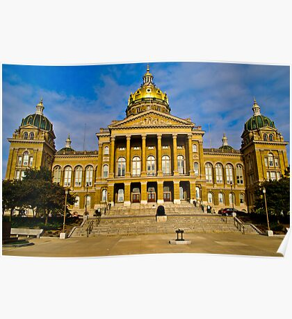 The Iowa State Capitol Poster