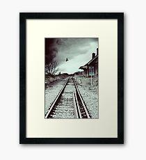 Desolation Station Framed Print