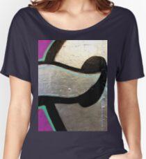 Silver Grafitti Women's Relaxed Fit T-Shirt
