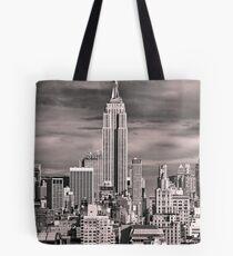 Skyline of New York City Tote Bag