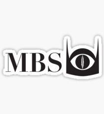 Mordor Broadcasting System Sticker