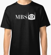 Mordor Broadcasting System (White) Classic T-Shirt