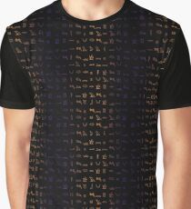 Written in stone. Graphic T-Shirt