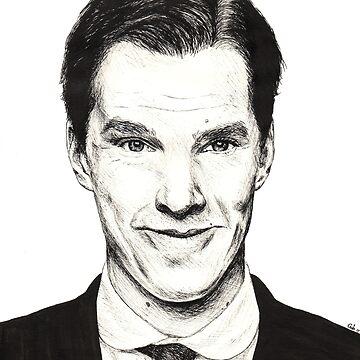 Benedict Cumberbatch by mariegib
