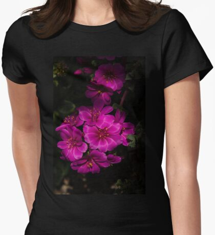 A Vivid Succulent Bouquet in Bold Pink and Fuchsia T-Shirt