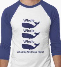 Whale, Whale, Whale Men's Baseball ¾ T-Shirt