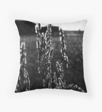Leaves of Grass Throw Pillow