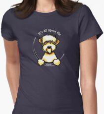 Soft Coated Wheaten Terrier IAAM Women's Fitted T-Shirt
