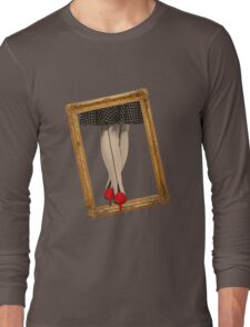 Hot Shoes - Red! Long Sleeve T-Shirt