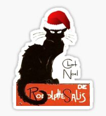 Le Chat Noel Sticker