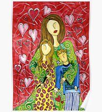 Mother's Heart Garden ~ it never ends Poster