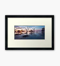 Memories of Menindee Framed Print