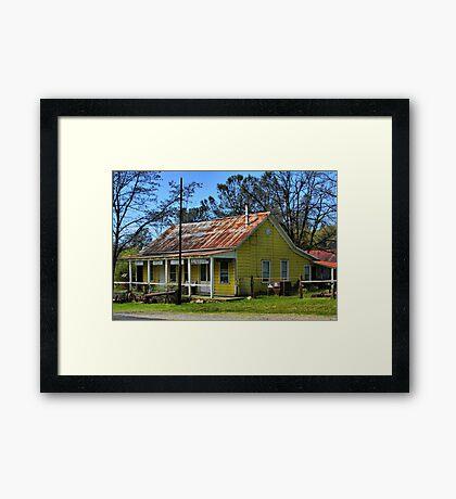 Cherokee Museum Framed Print