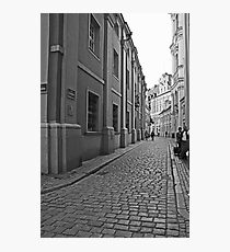 Poznan street scene 2 Photographic Print