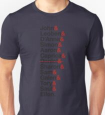 Cylon Jetset (black) Unisex T-Shirt