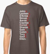 Cylon Jetset (white) Classic T-Shirt