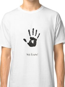 Dark Brotherhood Knows.. You've been Bad! Classic T-Shirt