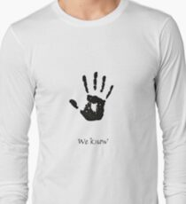 Dark Brotherhood Knows.. You've been Bad! T-Shirt