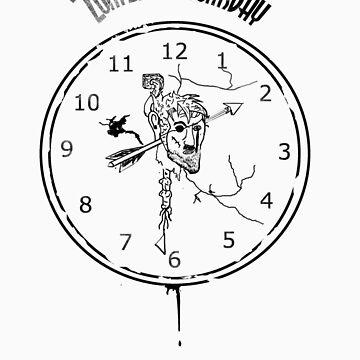 Zombie Doomsday Clock by Chefleclef