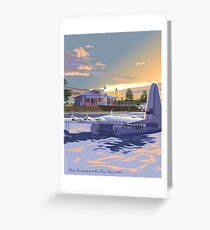Rose Bay, Sydney and Flying Boat Greeting Card