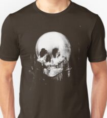 All Is Vanity: Halloween Life, Death, and Existence Slim Fit T-Shirt