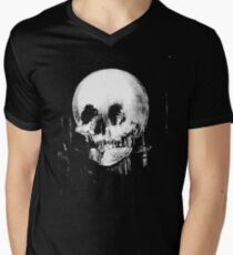 All Is Vanity: Halloween Life, Death, and Existence Mens V-Neck T-Shirt