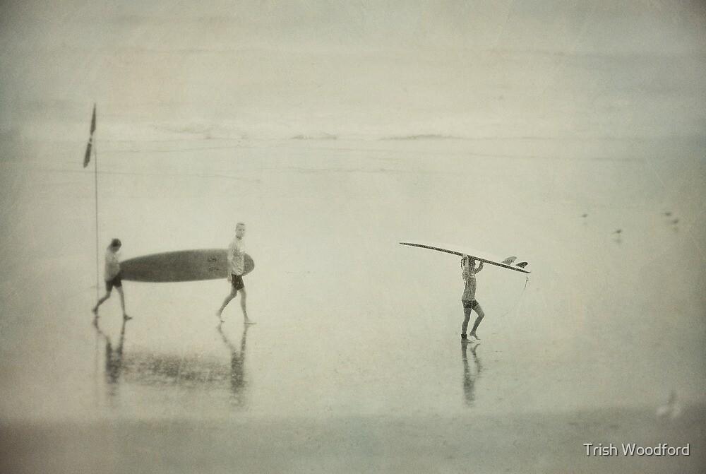 Seaspray I by Trish Woodford